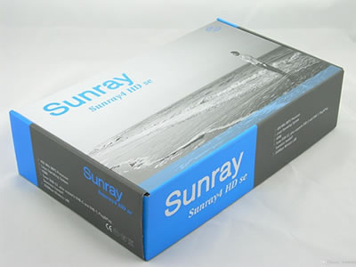 Sunray sr4 sim 210 card triple tuner DVB-S2/T2/C + WiFi  TV receiver
