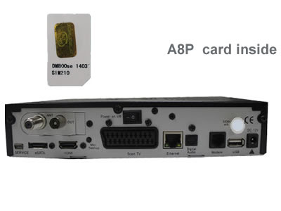 DM800 HD se  DVB-C A8P Card Cable Receiver