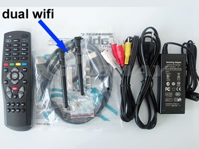 DM800 HD SE V2 dual wifi Sim2.20 Satellite tv Receiver 800se v2 Flash 1GB 521MB RAM bcm4505 tuner REV.E