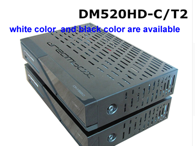Dreambox DM520hd with DVB-C/T2 Tuner Linux OS TV Receiver