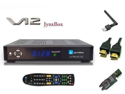 V12 JynxBox Ultra HD V12 Receiver