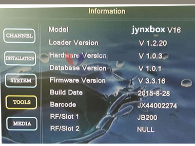 V16 JynxBox Ultra HD V16 Receiver