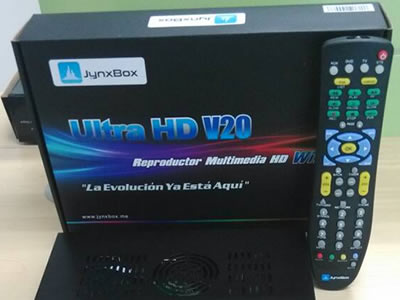 V20 JynxBox Ultra HD V20 Receiver