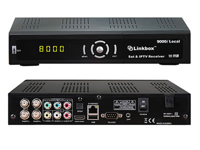 Linkbox 9000i Local HD iPTV Satellite RECEIVER