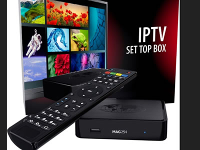MAG 254 IPTV TV Box with 12 Months IPTV Subscription 1700+ Channels