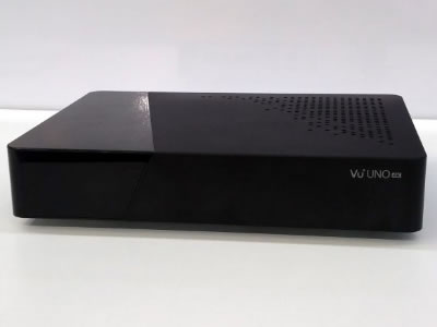 VU+ Uno 4K UHD Linux Satellite Receiver With Twin DVB-S2 FBC Tuners