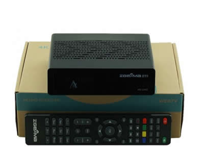 Zgemma H9S 4K UHD FTA Single Satellite receiver